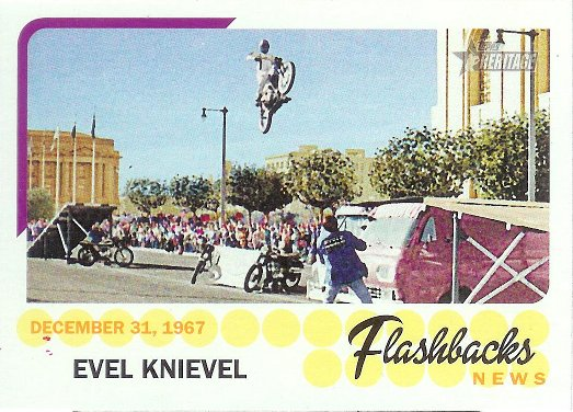 2016 Topps Heritage News Flashbacks #NF-EK Evel Knievel