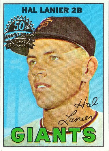 2016 Topps 50th Anniversary Buybacks 1967 #4 Hal Lanier