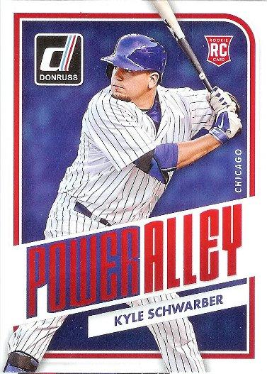 2016 Donruss Power Alley #PA8 Kyle Schwarber
