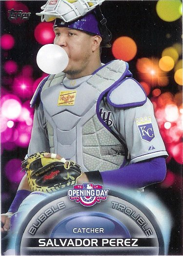 2016 Topps Opening Day Bubble Trouble #BT-3 Salvador