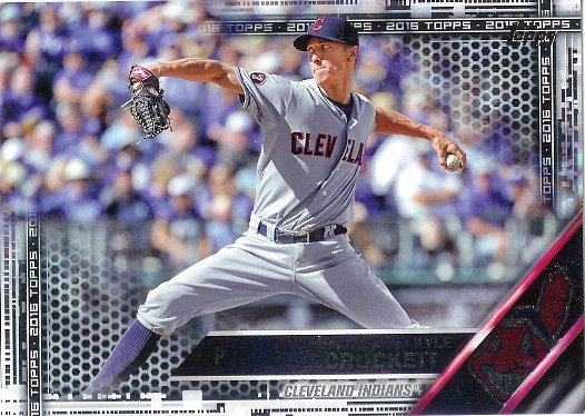 2016 Topps Black #695 Kyle Crockett