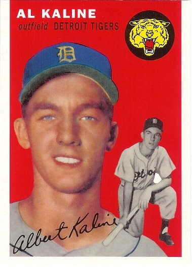 2016 Topps Berger's Best #BB2-1954 Al Kaline