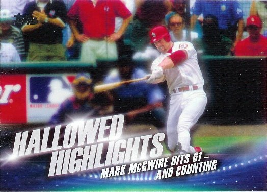 2016 Topps Hallowed Highlights #HH-6 Mark McGwire