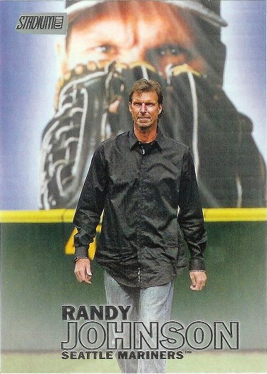 2016 Stadium Club #171 Randy Johnson