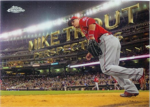 2016 Topps Chrome Perspectives #PC-16 Mike Trout