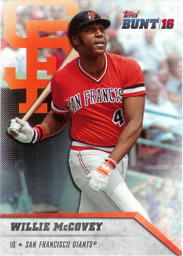 2016 Topps Bunt #50 Willie McCovey