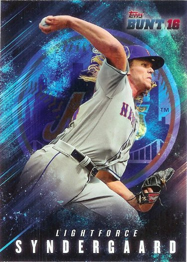 2016 Topps Bunt Light Force #LF-24 Noah Syndergaard