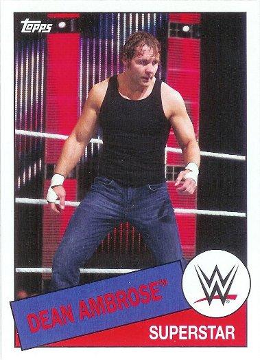 2015 Topps Heritage WWE #71 Dean Ambrose