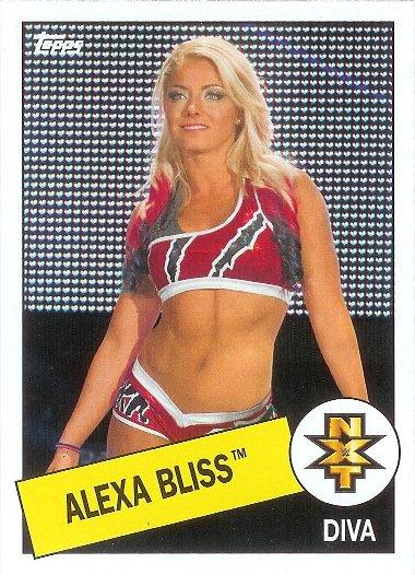 2015 Topps Heritage WWE #101 Alexa Bliss