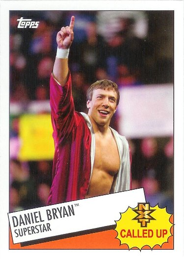 2015 Topps Heritage WWE NXT Called Up #5 Daniel Bryan