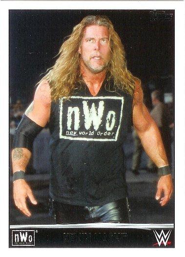 2015 Topps Heritage WWE NWO Tribute #32 Kevin Nash
