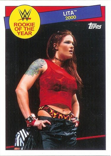 2015 Topps Heritage WWE Rookie of the Year #18 Lita