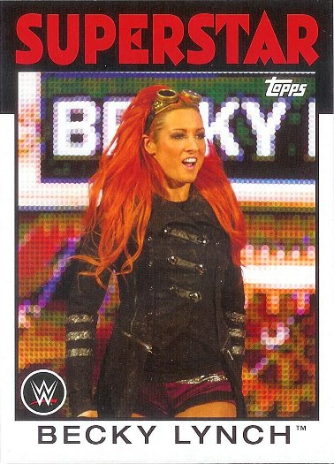 2016 Topps Heritage WWE #42 Becky Lynch