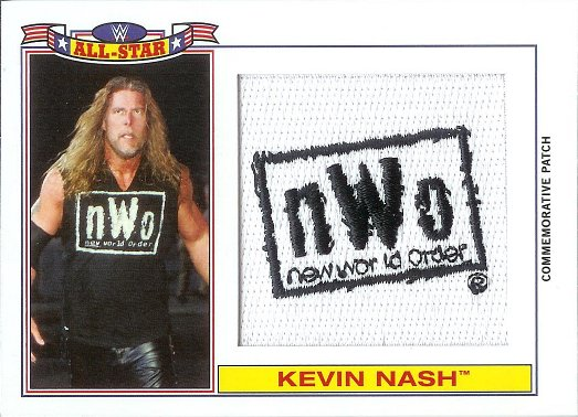 2016 Topps Heritage WWE Commemorative All-Star Patches # Kevin Nash
