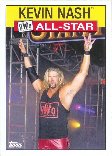 2016 Topps Heritage WWE WCW/nWo All-Stars #2 Kevin Nash