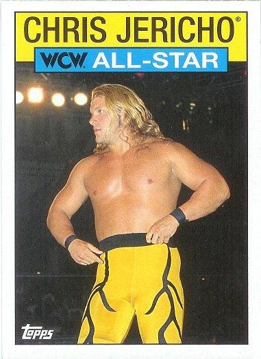2016 Topps Heritage WWE WCW/nWo All-Stars #28 Chris Jericho