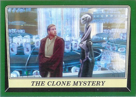 2016 Topps Star Wars Rogue One: Mission Briefing Green Squadron #5 The Clone Mystery