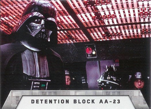 2016 Topps Star Wars Rogue One: Mission Briefing The Death Star #5 Detention Block AA-23