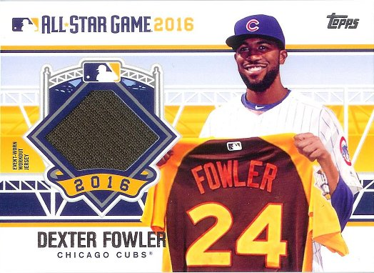 2016 Topps All Star Stitches #ASTIT-DF Dexter Fowler