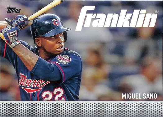 2016 Topps Team Franklin #TF-18 Miguel Sano