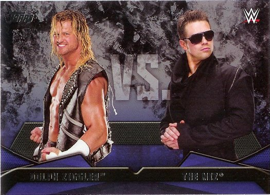 2016 Topps WWE WWE Rivalries #20 Dolph Ziggler vs. The Miz