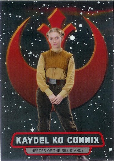 2016 Topps Star Wars The Force Awakens Chrome Heroes of the Resistance #17 Kaydel Ko Connix