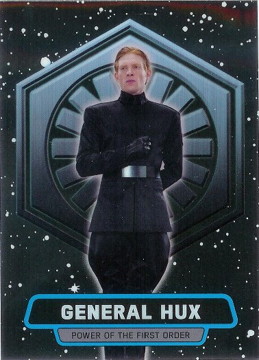 2016 Topps Star Wars The Force Awakens Chrome Power of the First Order #3 General Hux
