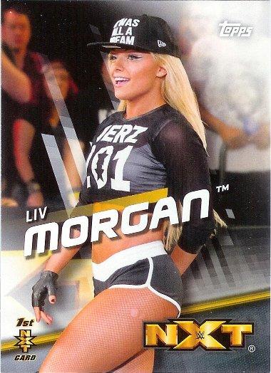 2016 Topps WWE Divas Revolution #41 Liv Morgan