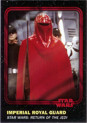 2016 Topps Star Wars Card Trader Red #22 Imperial Royal Guard