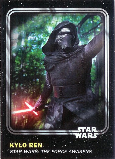 2016 Topps Star Wars Card Trader #54 Kylo Ren