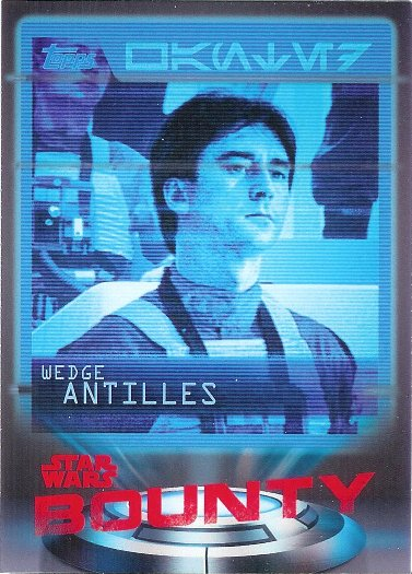2016 Topps Star Wars Card Trader Bounty #B-20 Wedge Antilles