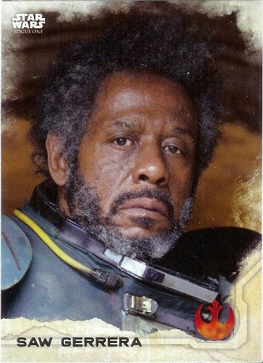 2016 Topps Star Wars Rogue One #6 Saw Gerrera