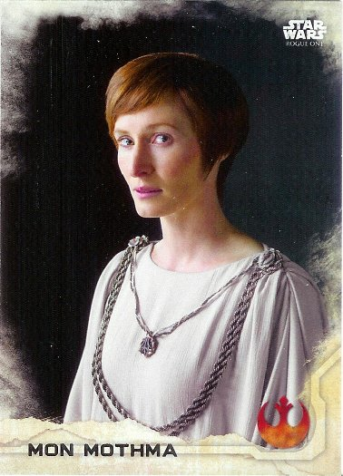 2016 Topps Star Wars Rogue One #8 Mon Mothma