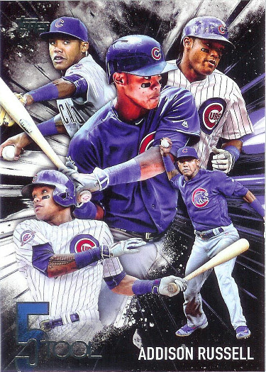 2017 Topps 5 Tool #5T-24 Addison Russell
