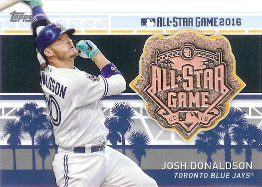 2017 Topps MLB All-Star Medallions #MLBAS-JD Josh Donaldson