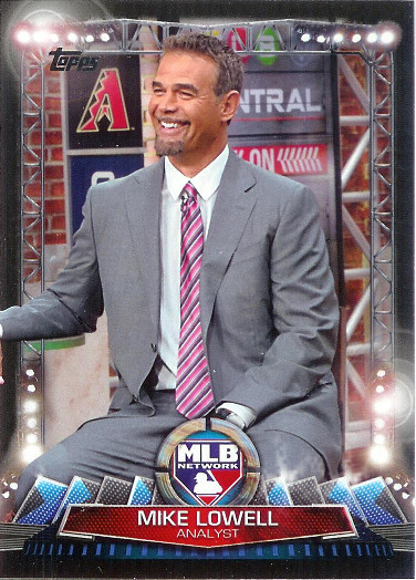 2017 Topps MLB Network #MLBN-2 Mike Lowell