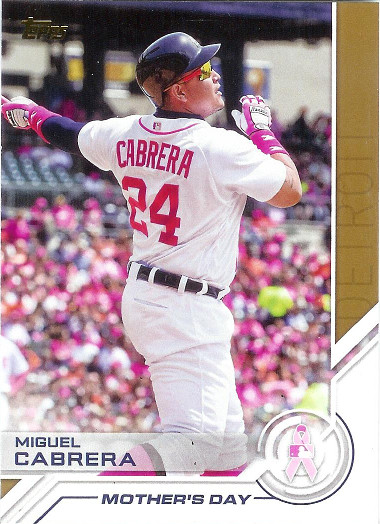 2017 Topps Salute #S-2 Miguel Cabrera