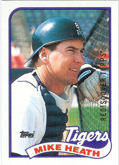 2017 Topps Rediscover Topps 1989 Buybacks Gold #743 Mike Heath