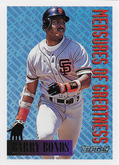 1994 Topps Gold #605 Barry Bonds ST