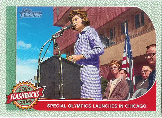 2017 Topps Heritage News Flashbacks #NF-8 Special Olympics Founded