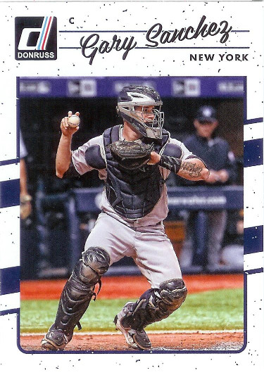 2017 Donruss #126 Gary Sanchez