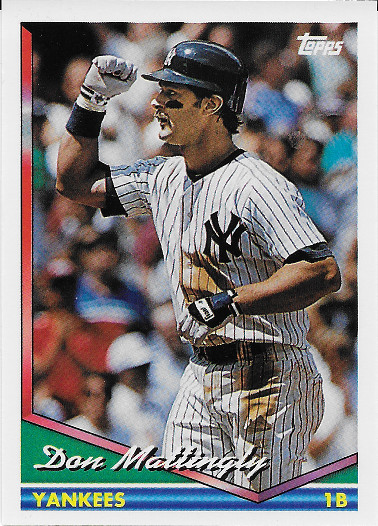 1994 Topps #600 Don Mattingly