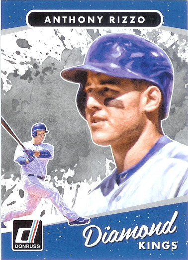 2017 Donruss #5 Anthony Rizzo DK SP