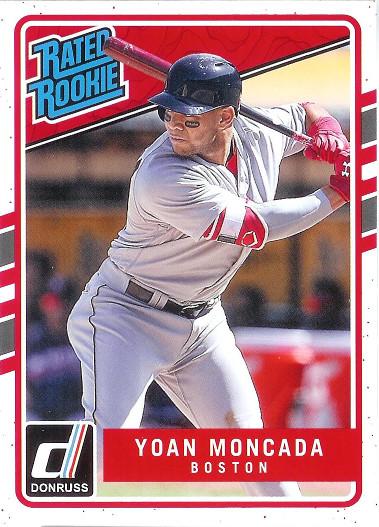 2017 Donruss #31 Yoan Moncada RR SP