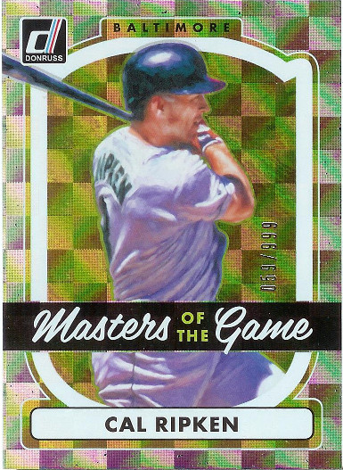 2017 Donruss Masters of the Game #MG-1 Cal Ripken