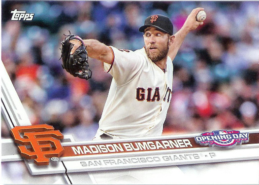 2017 Topps Opening Day #135 Madison Bumgarner