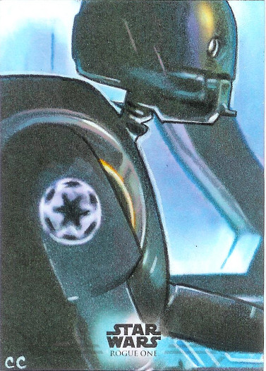 2017 Topps Star Wars Rogue One Sketch Cards # Carlos Cabaleiro