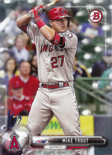 2017 Bowman #100 Mike Trout