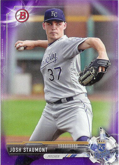2017 Bowman Prospect Purple #BP89 Josh Staumont