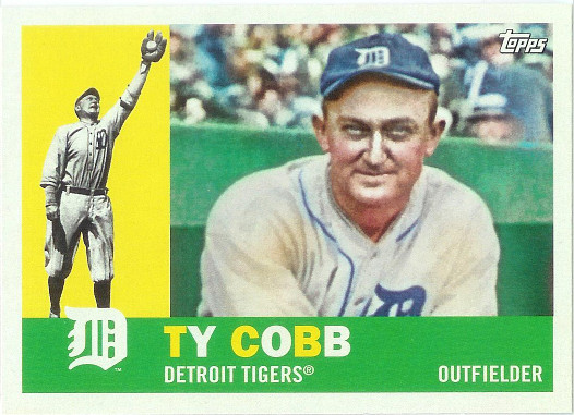 2017 Topps Archives #75 Ty Cobb